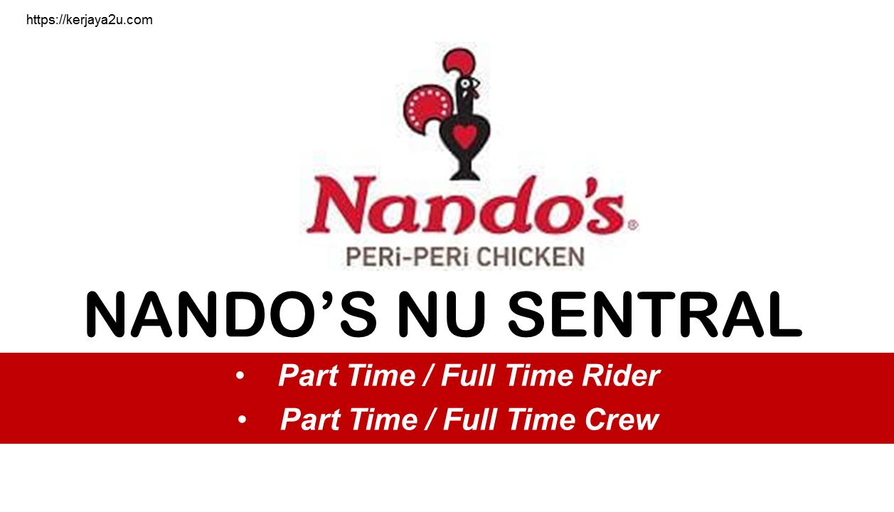 jawatan kosong terkini di nando's NU Sentral