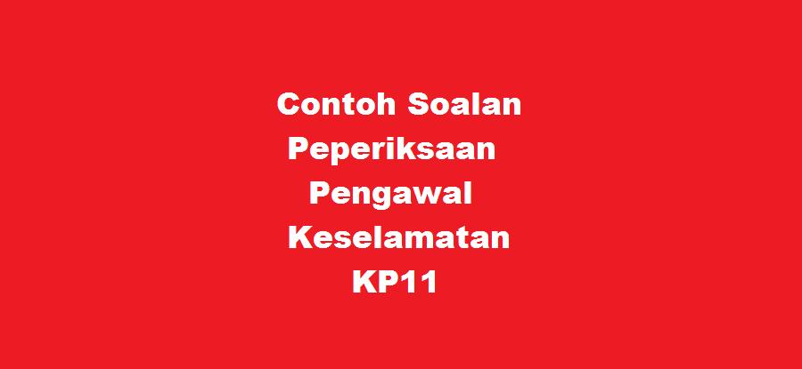 pengawal keselamatan kp11